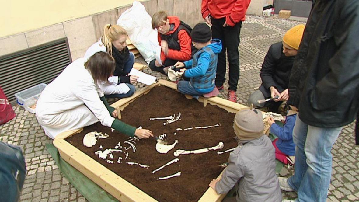 Program byl zaměřen i na nejmenší návštěvníky