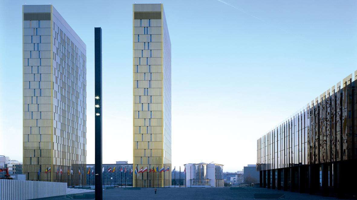 Budova Soudního dvoru EU