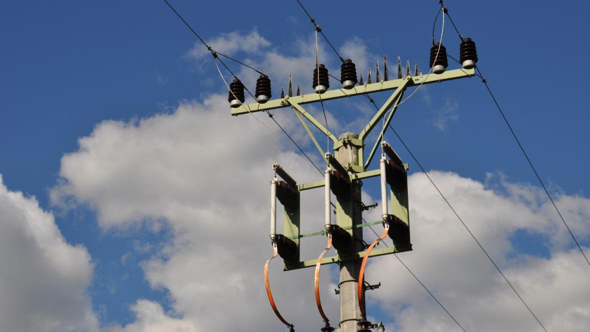 Stožár elektrického napětí