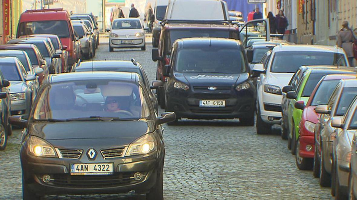 Problémy s parkováním v Praze