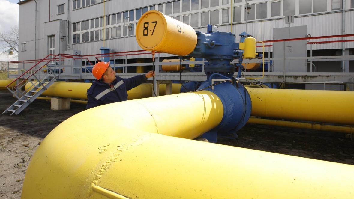 Plynovod u Kyjeva