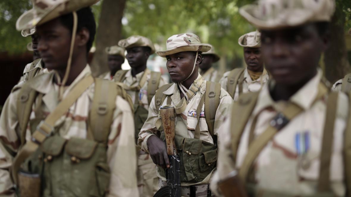 Čadští vojáci
