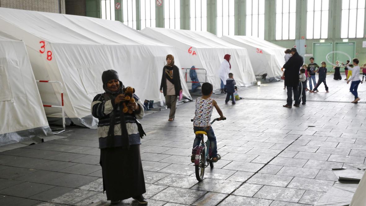 Útočiště pro uprchlíky v Berlíně