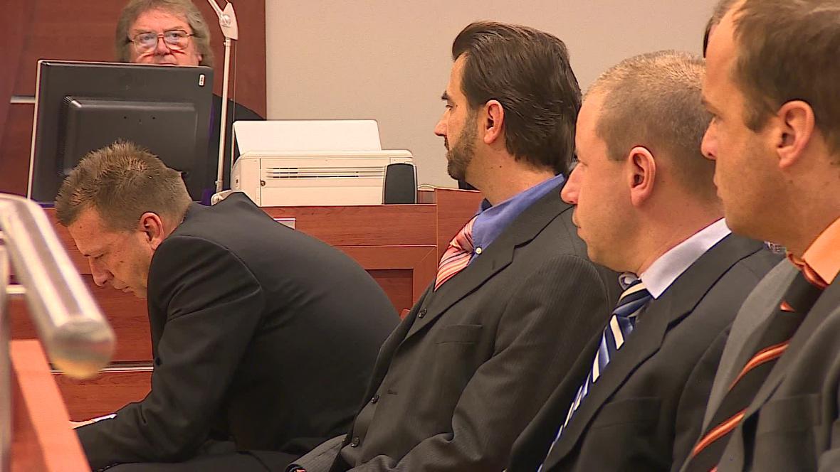 U brněnského soudu se sešla čtveřice obžalovaných