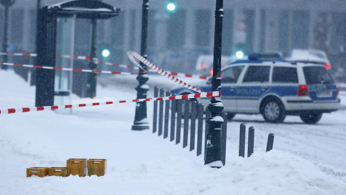 Policie uzavřela v Berlíně úřad německé kancléřky