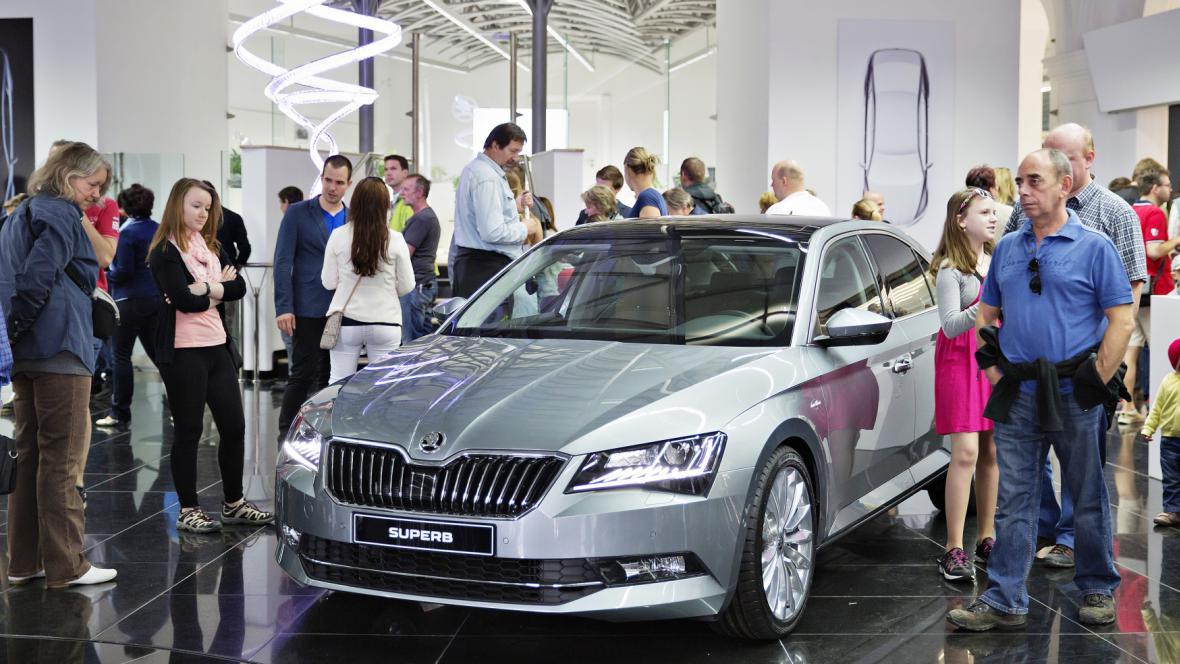 Den otevřených dveří ve Škoda Auto