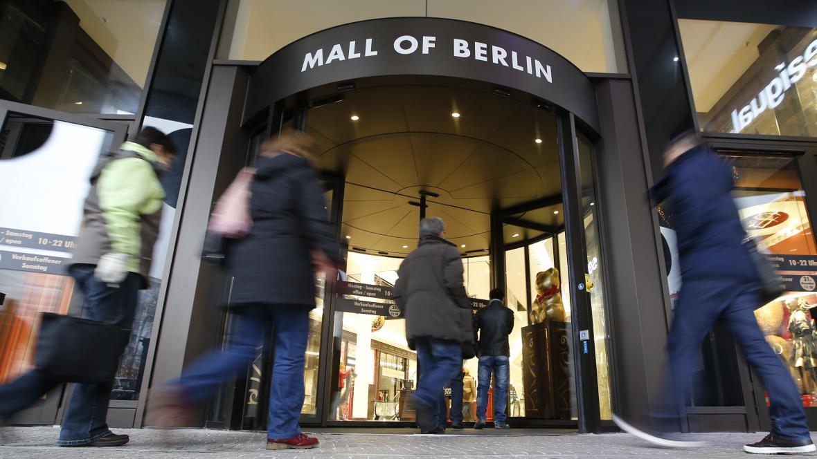 Obchodní centrum v Berlíně