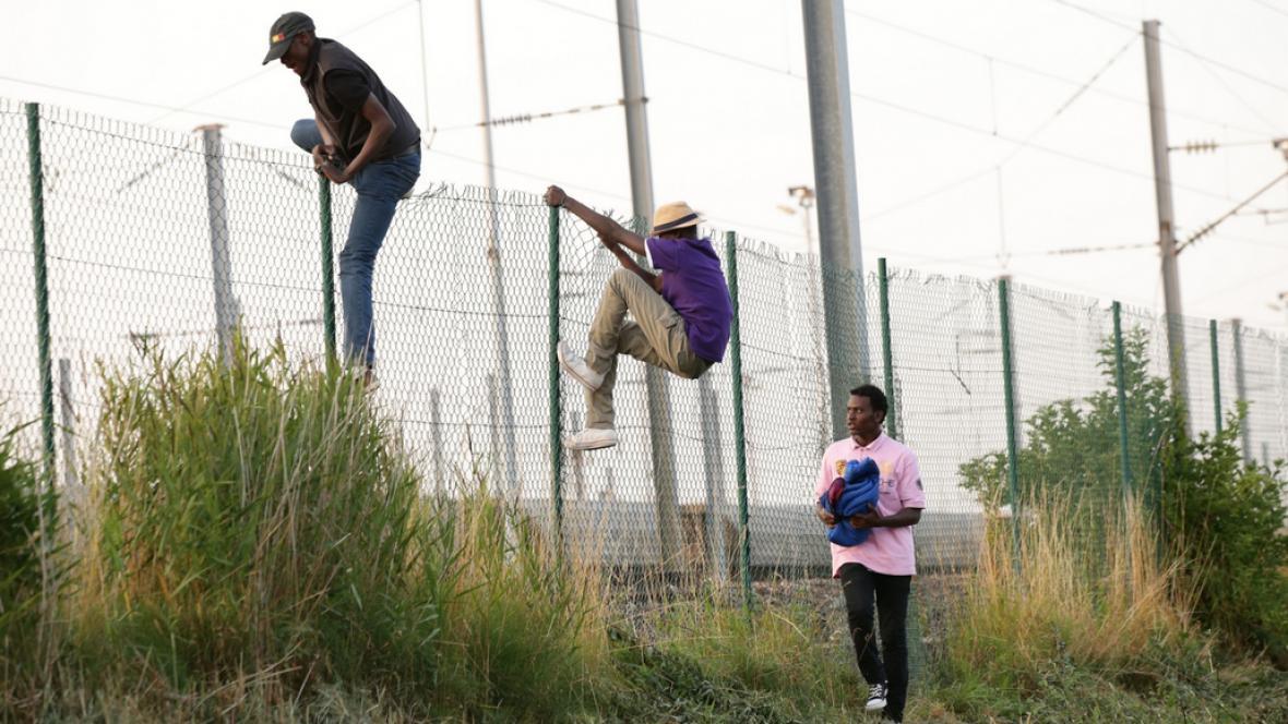 Uprchlíci v Calais