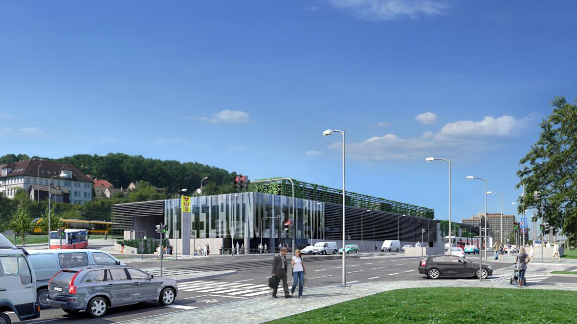 Vizualizace veleslavínského terminálu