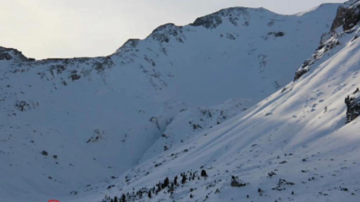 Alpy v Tyrolsku