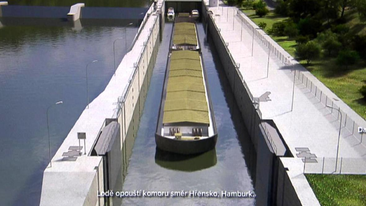 Vizualizace Ředitelství vodních cest