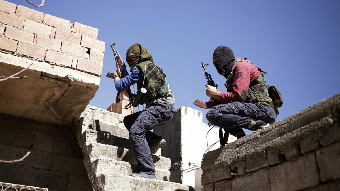 Bojovníci Strany kurdských pracujících