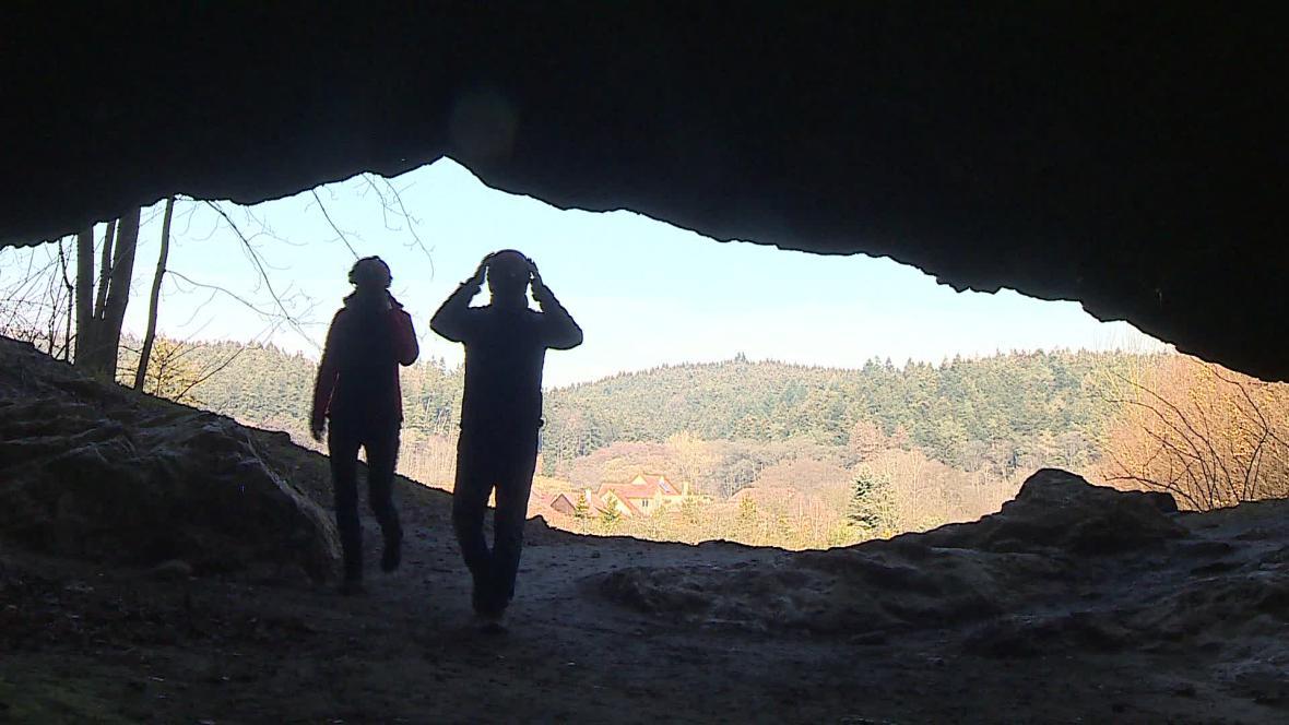 Jeskyně je volně přístupná