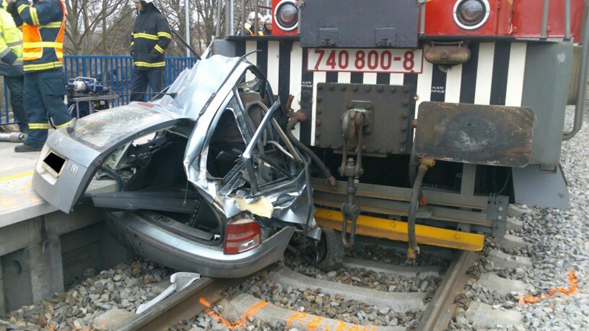 Nehoda v Golčově Jeníkově