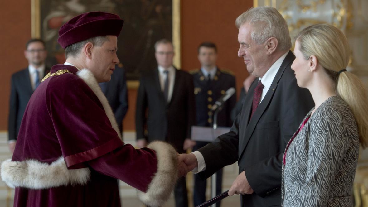 Jmenování rektora Jihočeské univerzity