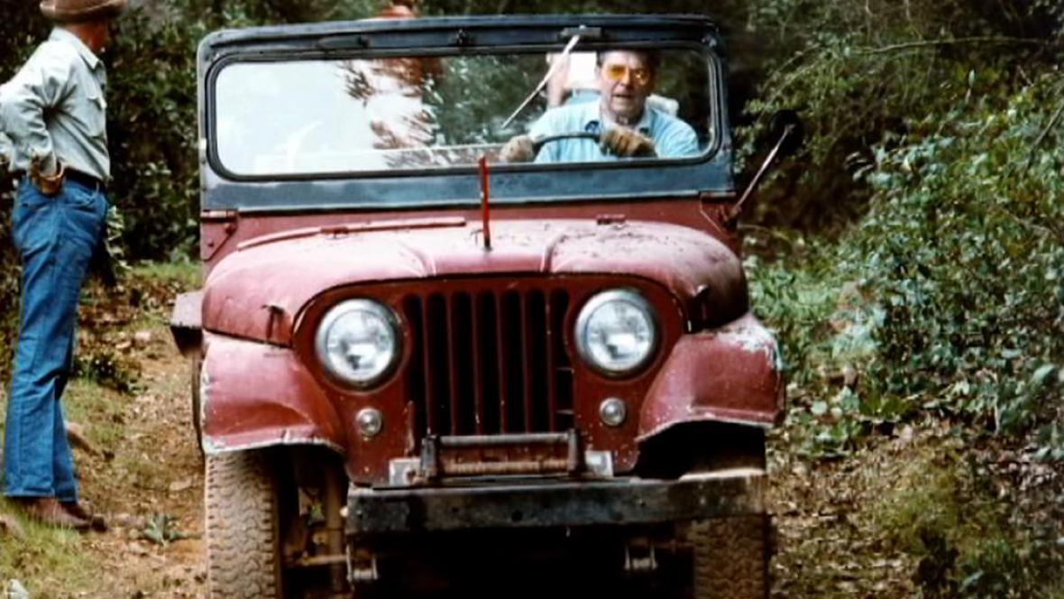 Jeep Ronalda Reagana