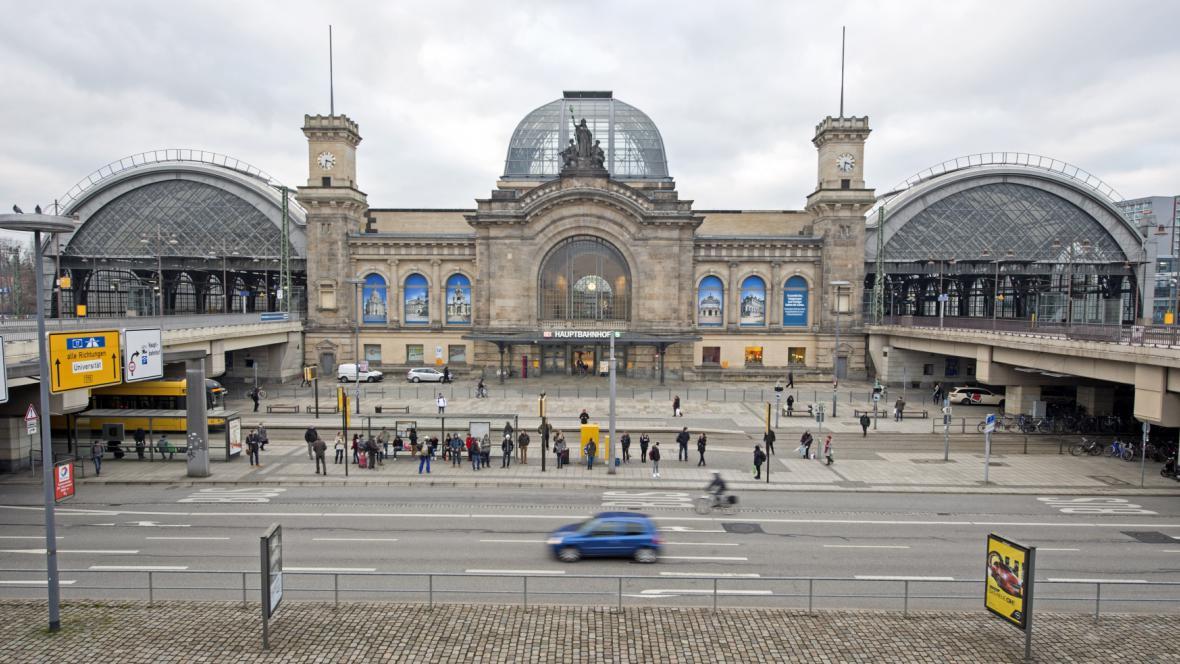Drážďanské hlavní nádraží