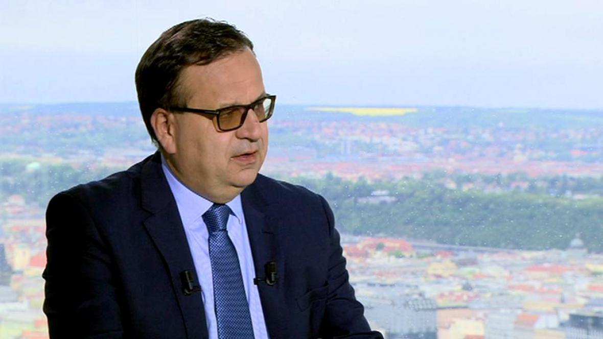 Ministr průmyslu Jan Mládek (ČSSD)