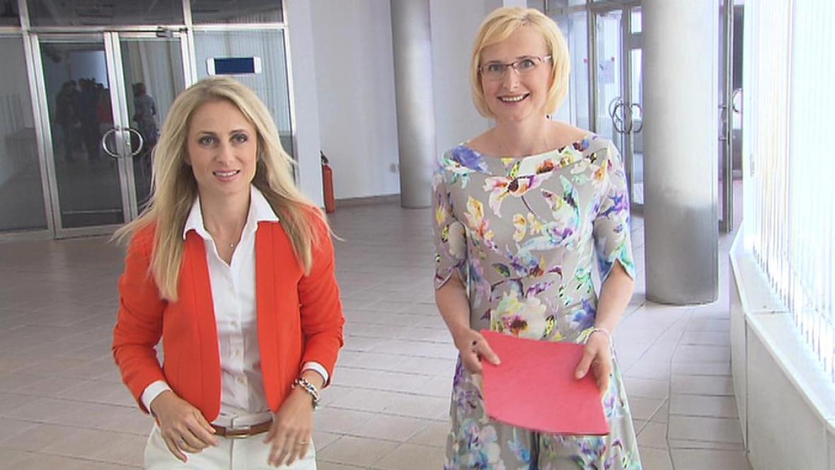 Dita Charanzová a Kateřina Konečná