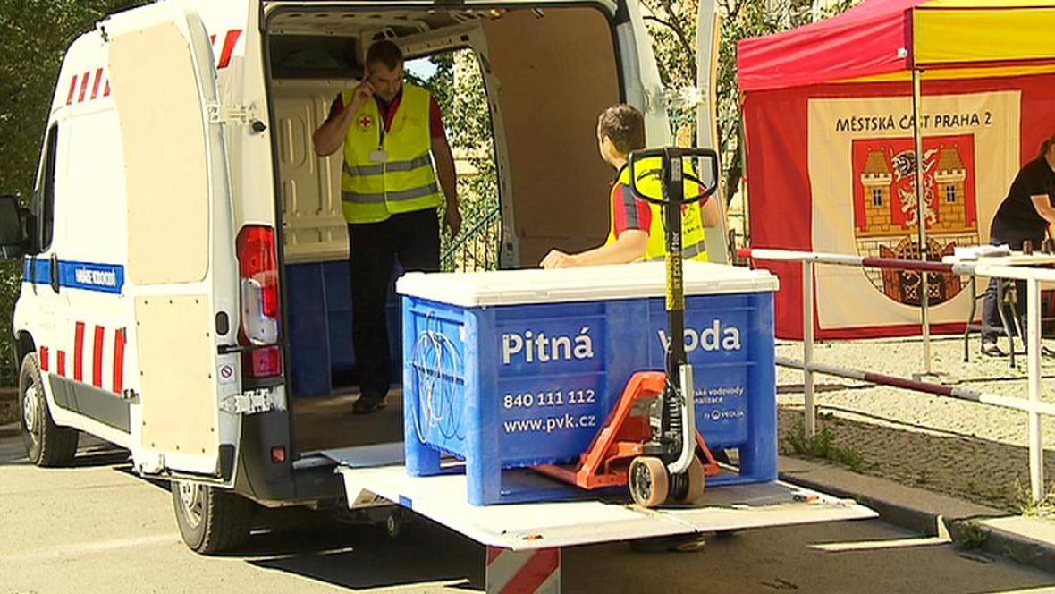 Cvičné dodávky pitné vody