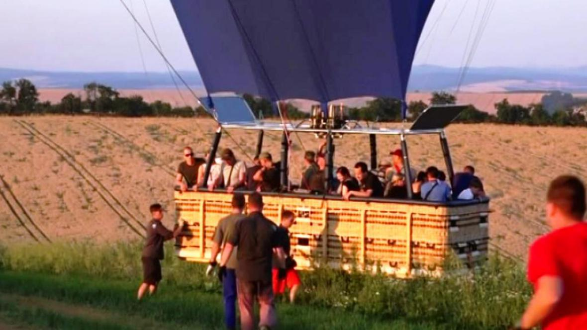 Balon pro 25 lidí
