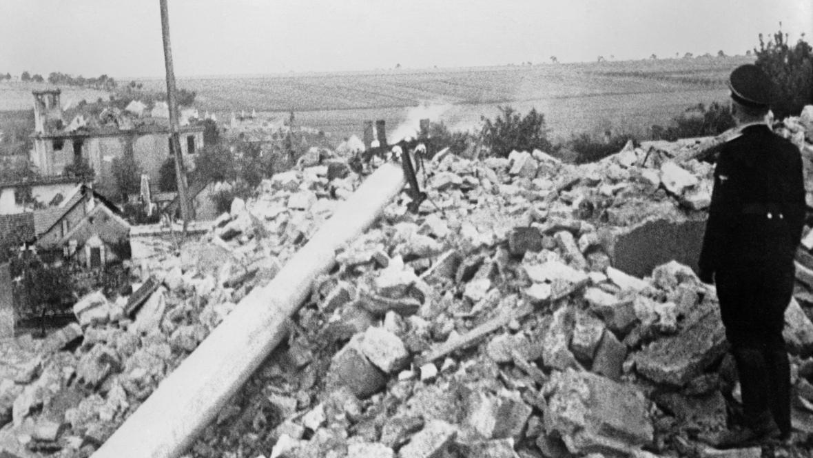 Nacisty zničené Lidice