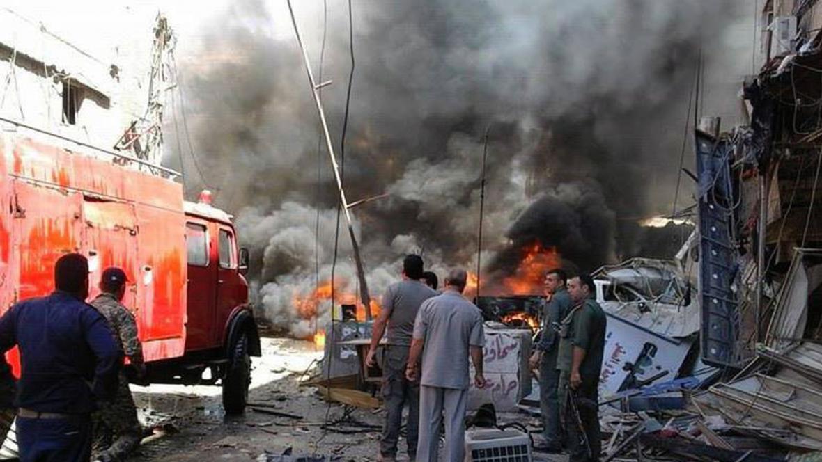 Útok na damašském předměstí Sajjida Zajnab