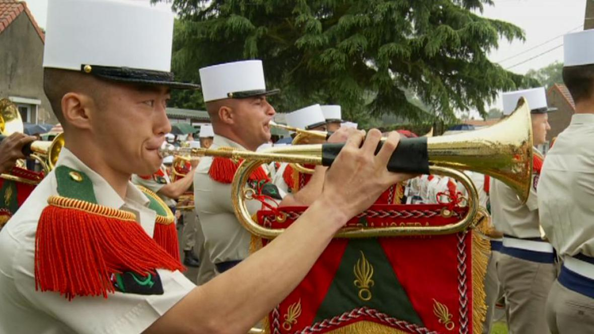 Oslavy 100. výročí bitvy v Belloy-en-Santerre
