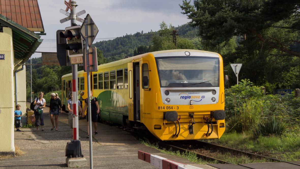 Železniční zastávka Turnov město