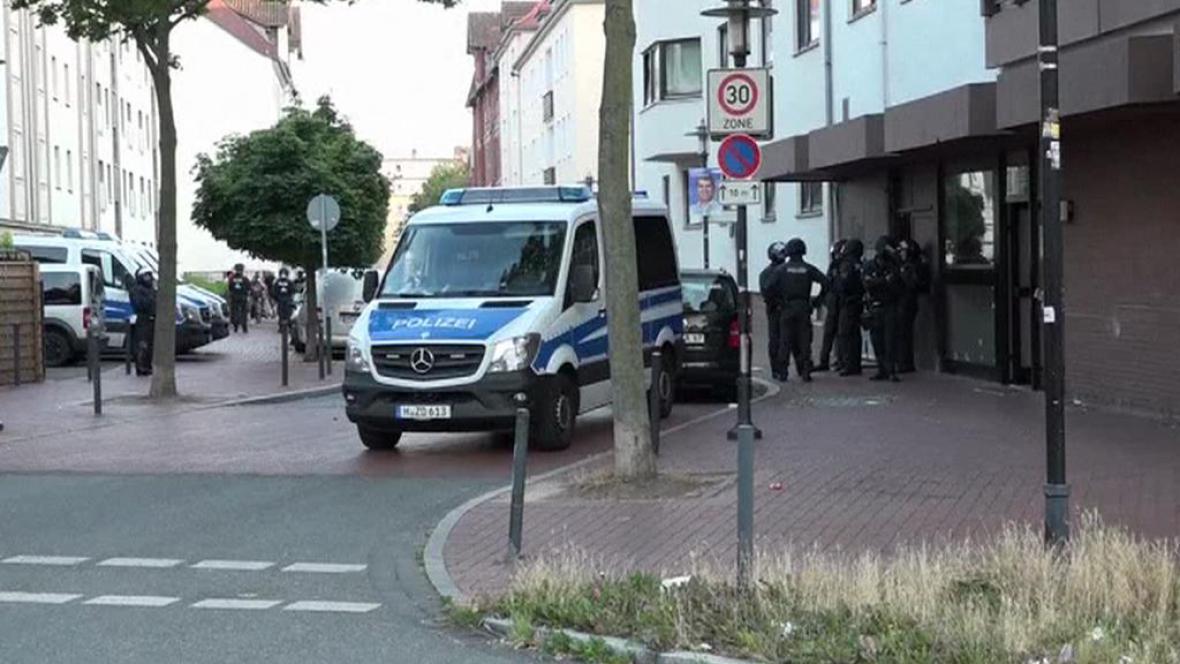 Zátah policistů v Dolním Sasku