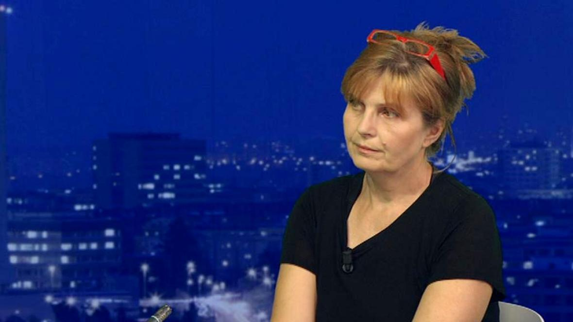 Redaktorka Lidových novin Petra Procházková