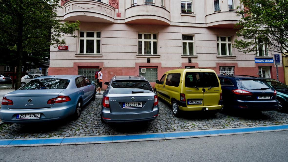 Modrá zóna v Praze 6