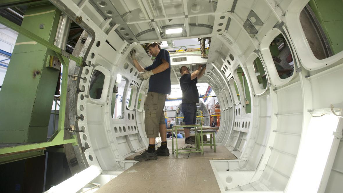 Výrobní hala společnosti Aicraft Industries