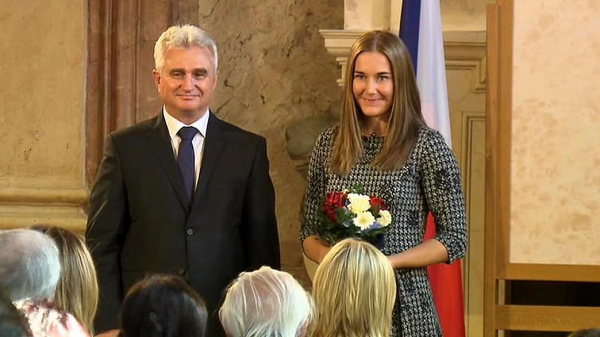Milan Štěch a Šárka Strachová
