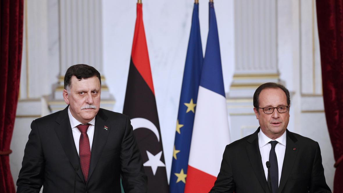 Fayeze Seraje a Francois Hollande