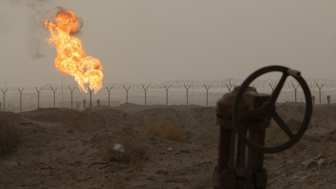 Těžba v Iráku