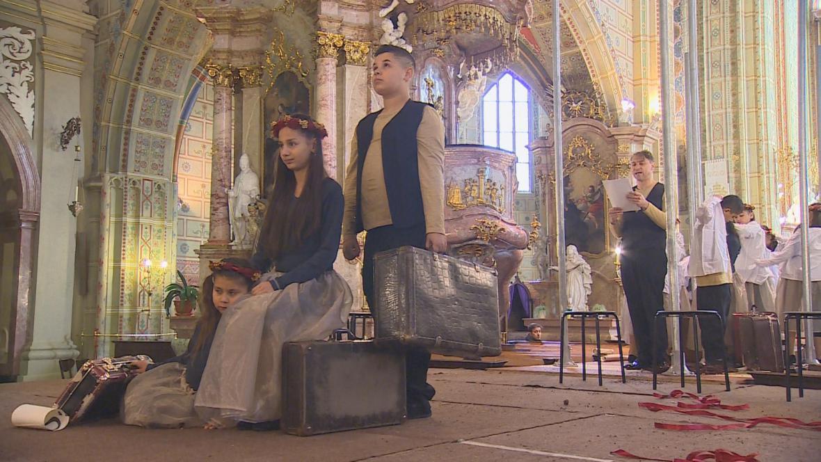 Projekt Requiem pro člověka v bazilice Nanebevzetí Panny Marie