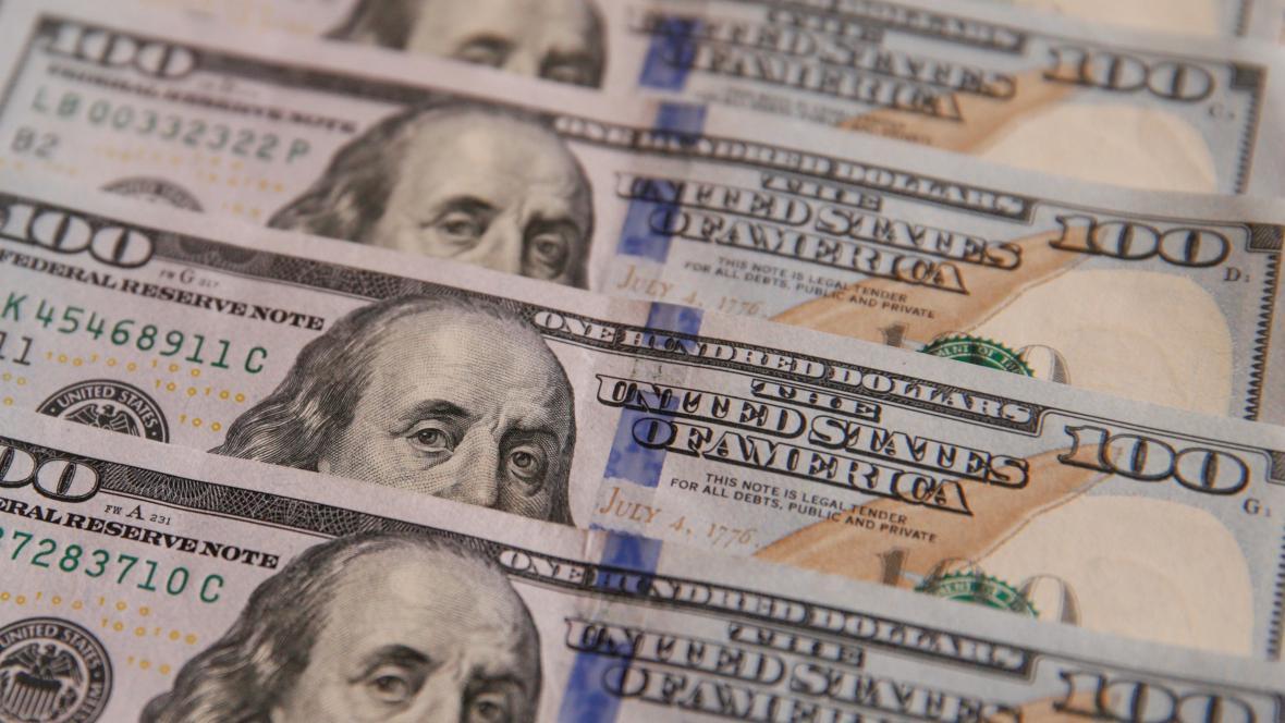 Americké stodolarové bankovky