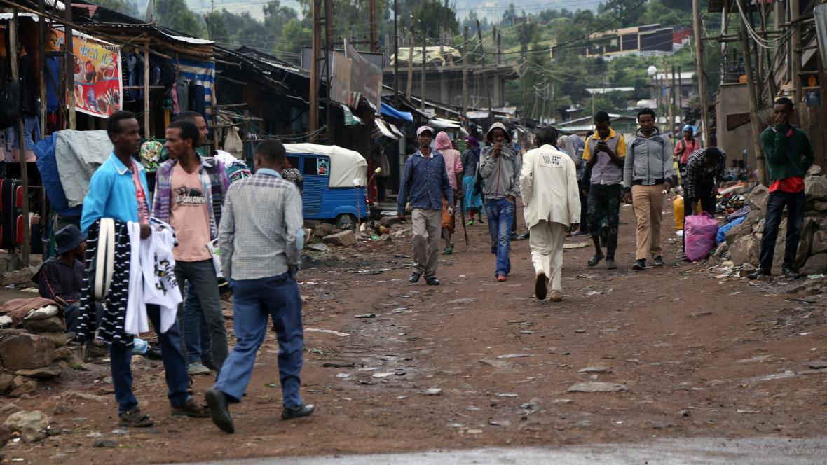 V Etiopii platí výjimečný stav