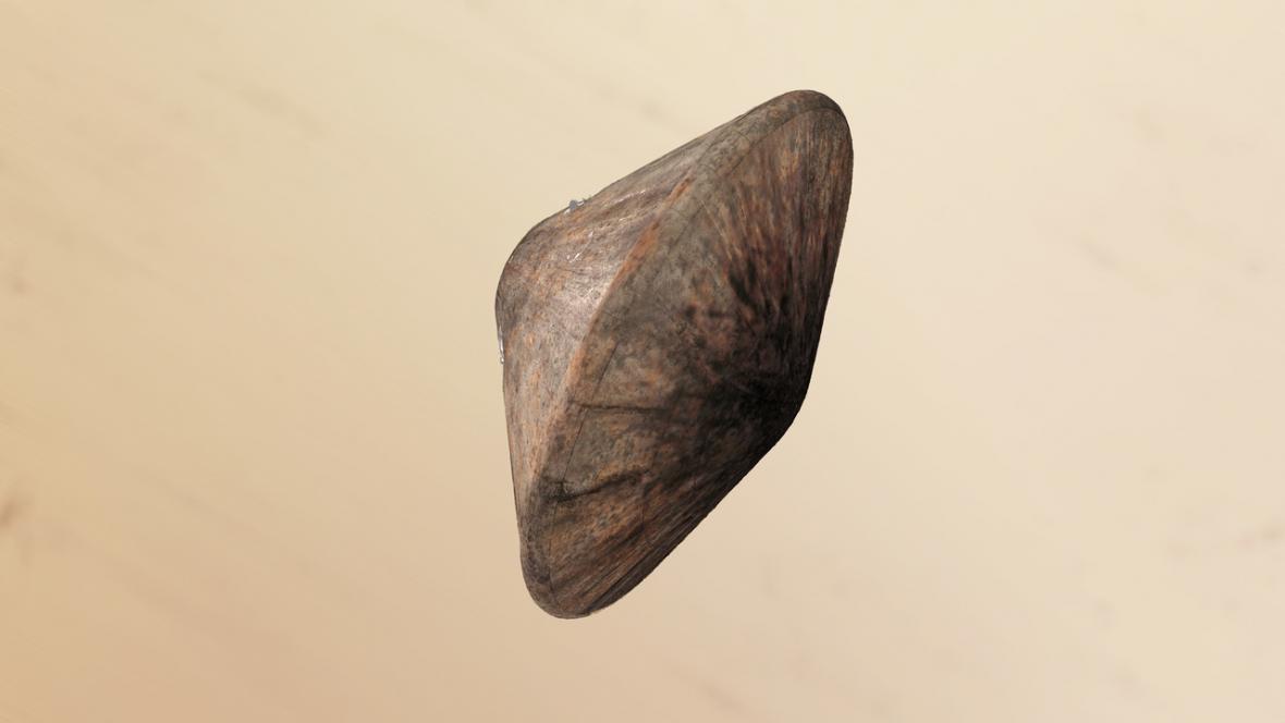 Schiaparelli přistávající na Marsu