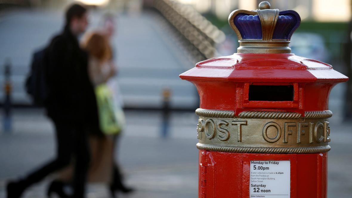 Pošta v Británii