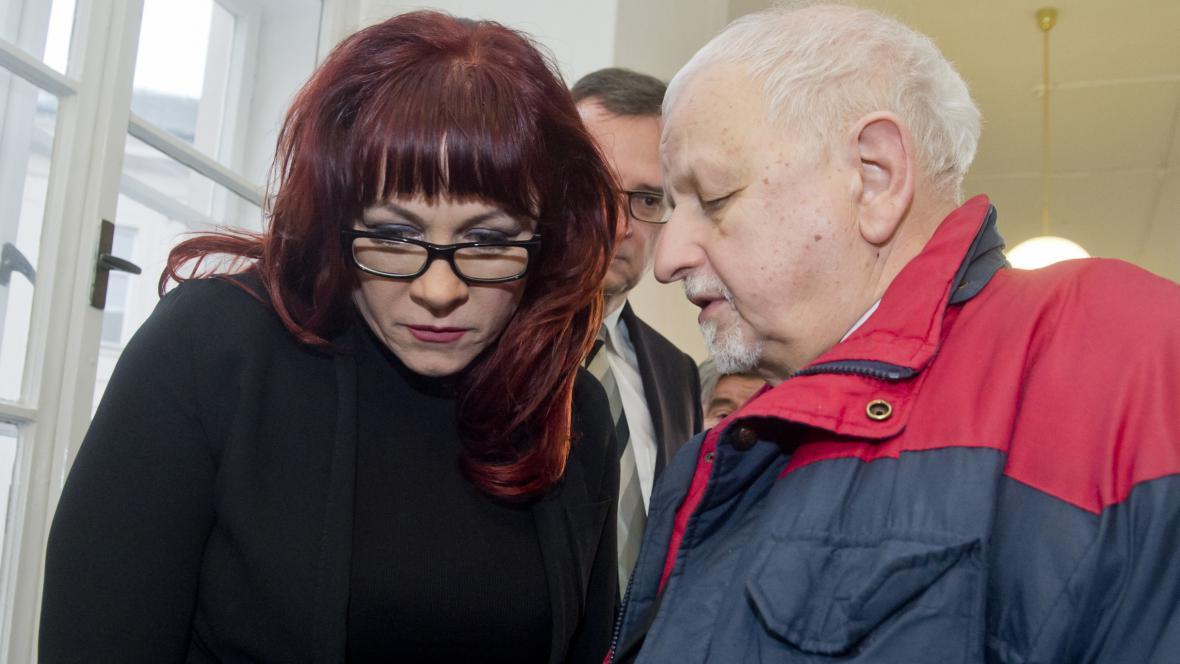 Jana Nečasová a právník Eduard Bruna