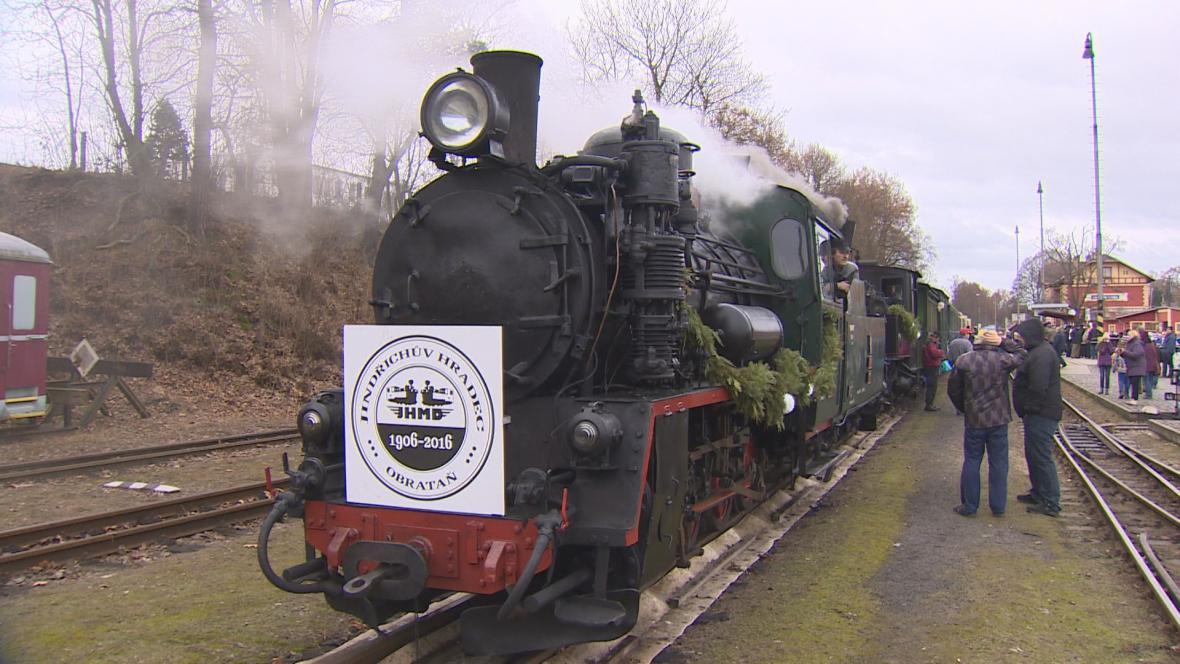 Historický vlak JHMD