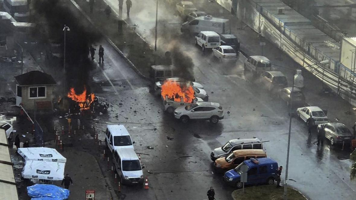 Po výbuchu v tureckém Izmiru