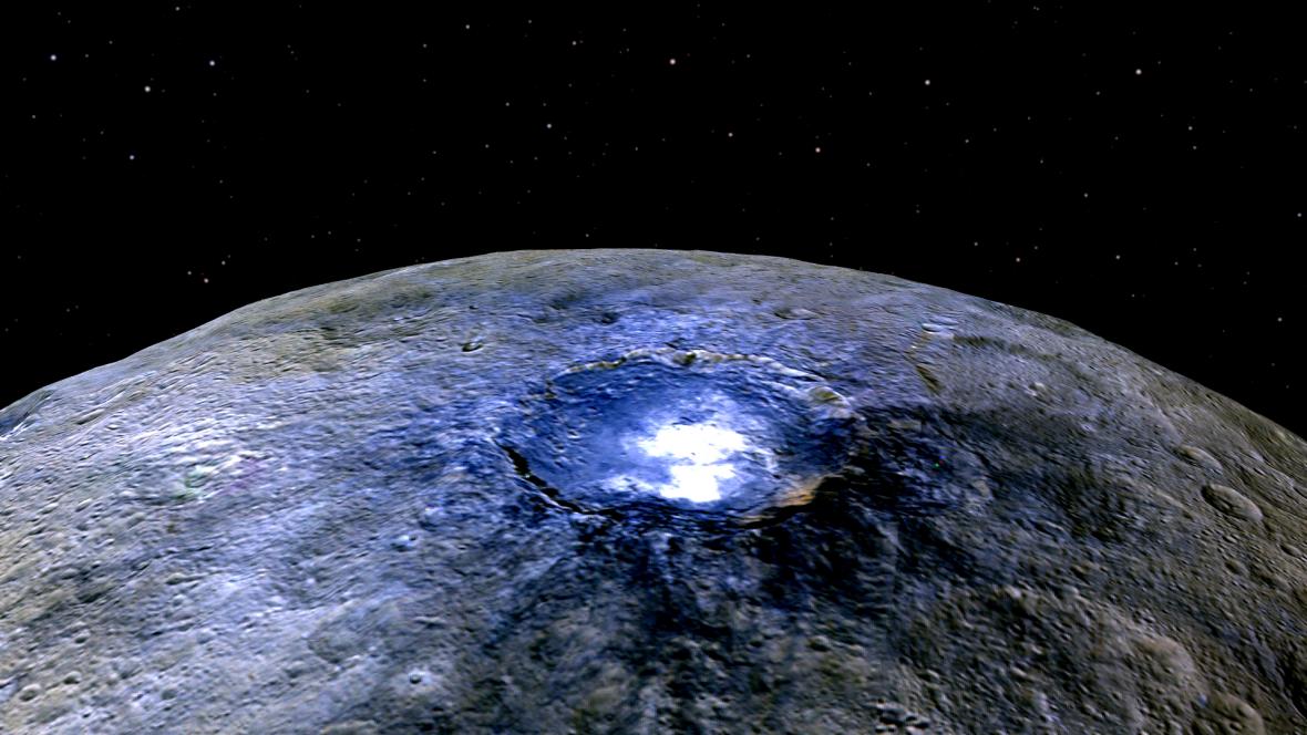 Trpasličí planeta Ceres