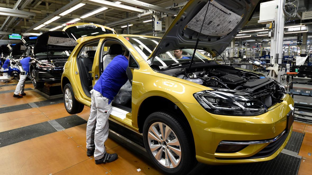 Výroba Volkswagenu ve Wolfsburgu