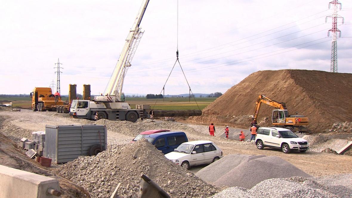 Výstavba dálnice D4