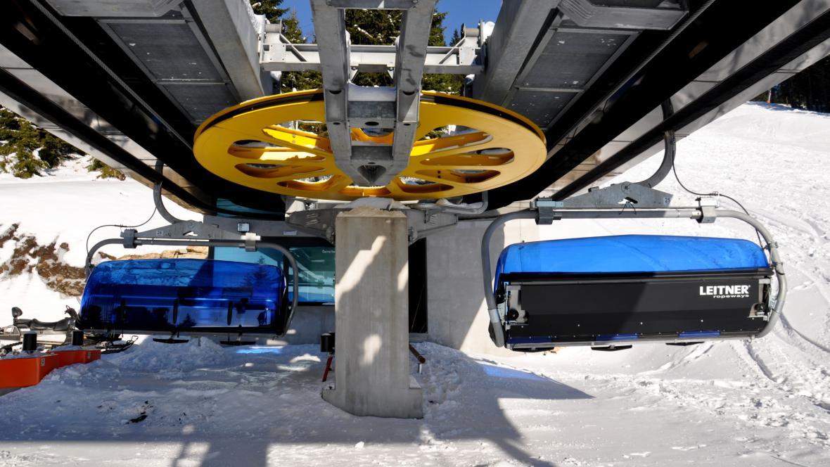 Skiareál Černá hora v Krkonoších