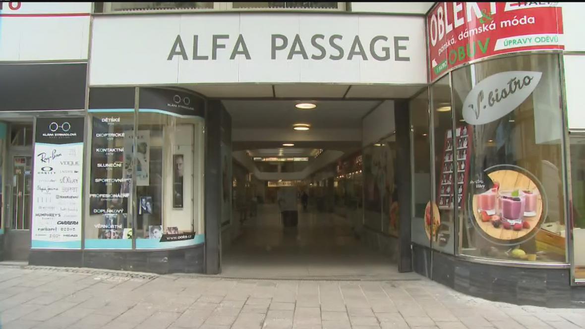 Pasáž Alfa v Brně
