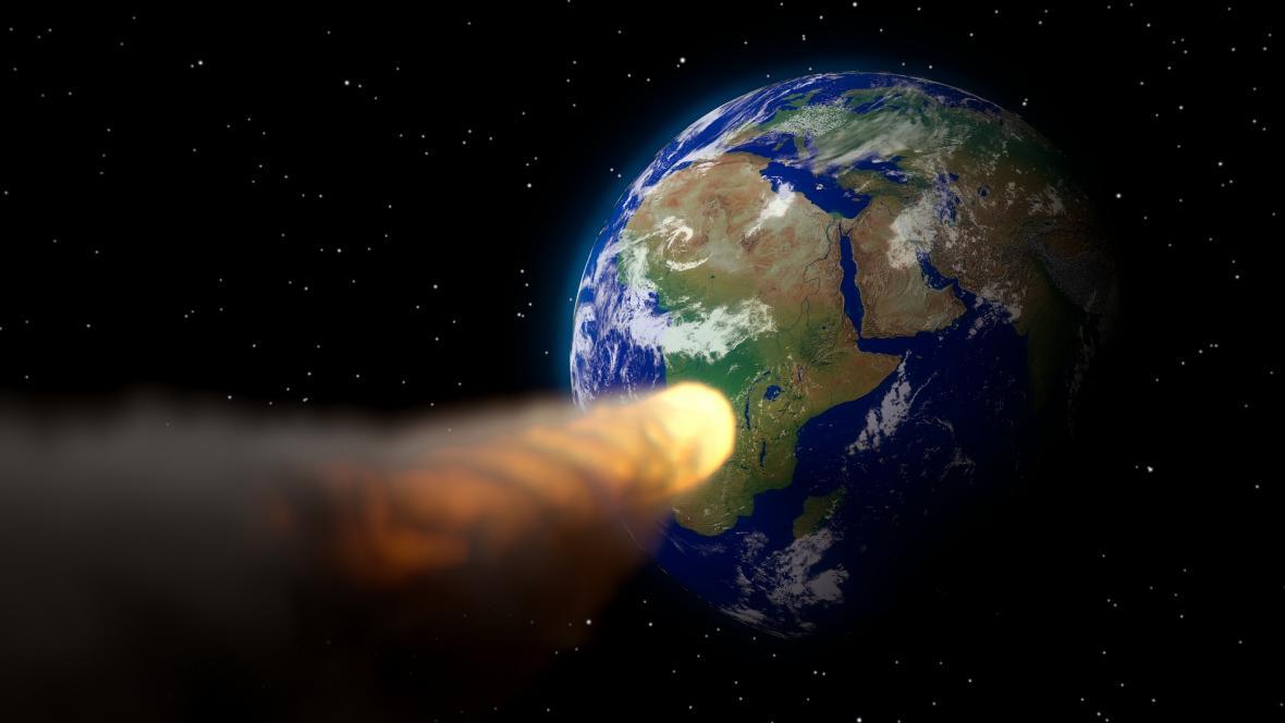 Srážka asteroidu se Zemí